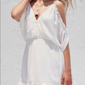 Lovers + Friends Monaco Dress In White Size Small